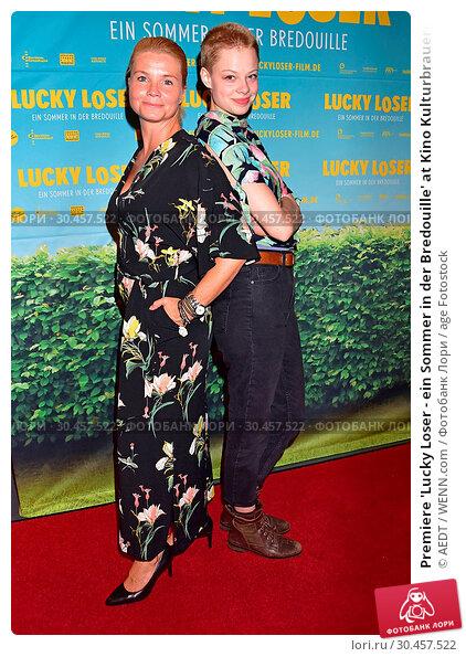 Premiere 'Lucky Loser - ein Sommer in der Bredouille' at Kino Kulturbrauerei... (2017 год). Редакционное фото, фотограф AEDT / WENN.com / age Fotostock / Фотобанк Лори