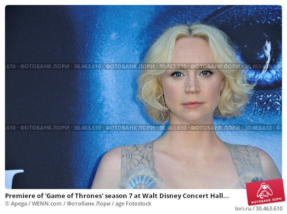 Premiere of 'Game of Thrones' season 7 at Walt Disney Concert Hall... (2017 год). Редакционное фото, фотограф Apega / WENN.com / age Fotostock / Фотобанк Лори