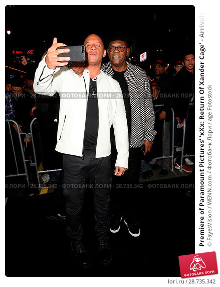 Купить «Premiere of Paramount Pictures' 'xXx: Return Of Xander Cage' - Arrivals Featuring: Vin Diesel, Samuel L Jackson Where: Hollywood, California, United States...», фото № 28735342, снято 19 января 2017 г. (c) age Fotostock / Фотобанк Лори