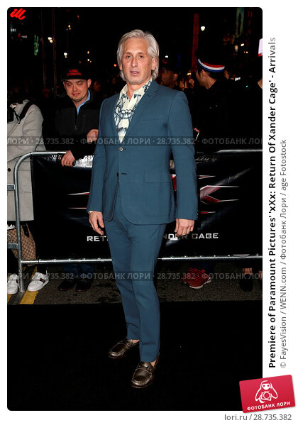 Купить «Premiere of Paramount Pictures' 'xXx: Return Of Xander Cage' - Arrivals Featuring: David Meister Where: Hollywood, California, United States When: 19 Jan 2017 Credit: FayesVision/WENN.com», фото № 28735382, снято 19 января 2017 г. (c) age Fotostock / Фотобанк Лори