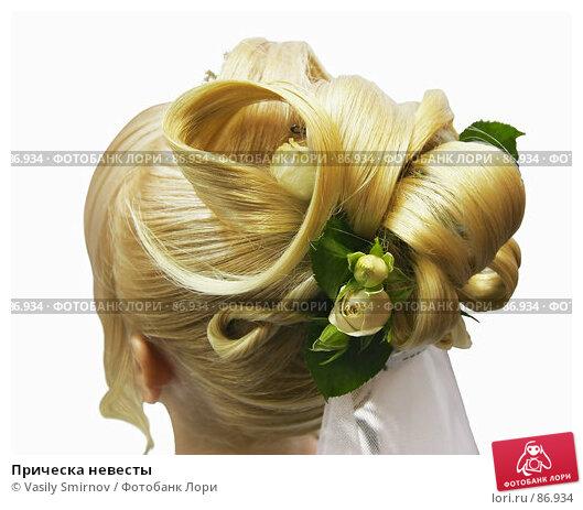 Прическа невесты, фото № 86934, снято 8 сентября 2007 г. (c) Vasily Smirnov / Фотобанк Лори