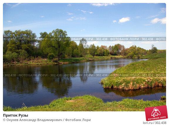 Купить «Приток Рузы», фото № 302438, снято 10 мая 2008 г. (c) Окунев Александр Владимирович / Фотобанк Лори