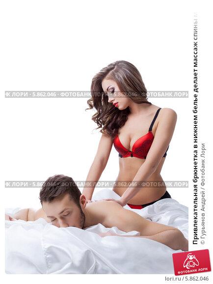 Фото девушка делает массаж мужчине индивидуалки в попку