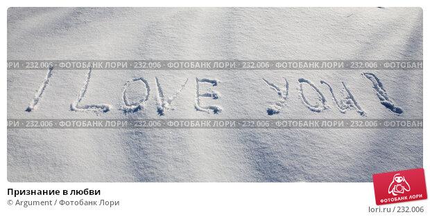 Признание в любви, фото № 232006, снято 20 февраля 2008 г. (c) Argument / Фотобанк Лори