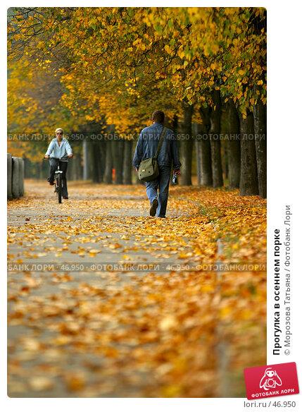 Купить «Прогулка в осеннем порке», фото № 46950, снято 3 октября 2005 г. (c) Морозова Татьяна / Фотобанк Лори