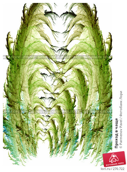 Купить «Проход в чаще», иллюстрация № 270722 (c) Parmenov Pavel / Фотобанк Лори