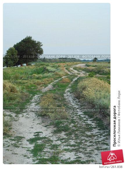 Купить «Проселочная дорога», фото № 261838, снято 22 июля 2007 г. (c) Илья Лиманов / Фотобанк Лори