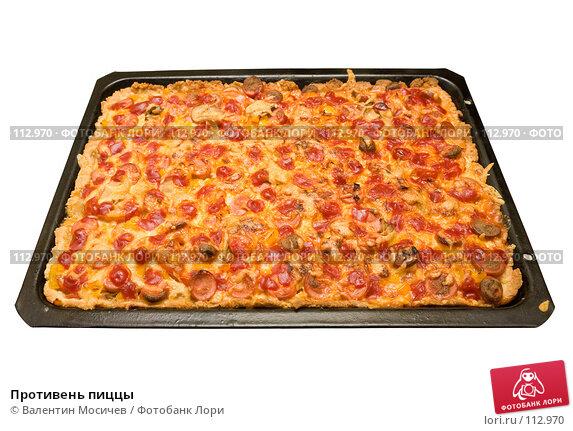 Купить «Противень пиццы», фото № 112970, снято 25 февраля 2007 г. (c) Валентин Мосичев / Фотобанк Лори