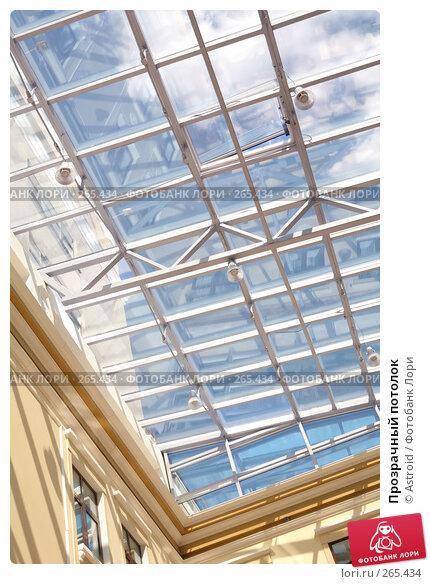 Купить «Прозрачный потолок», фото № 265434, снято 26 апреля 2008 г. (c) Astroid / Фотобанк Лори