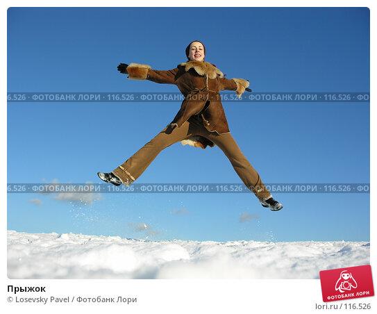 Купить «Прыжок», фото № 116526, снято 14 декабря 2005 г. (c) Losevsky Pavel / Фотобанк Лори