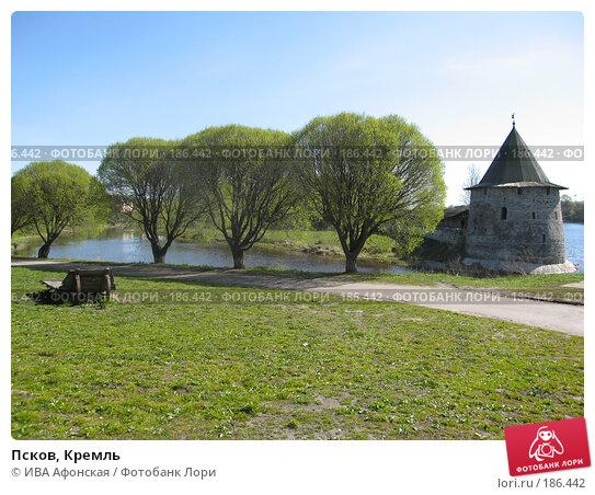 Купить «Псков, Кремль», фото № 186442, снято 7 мая 2007 г. (c) ИВА Афонская / Фотобанк Лори
