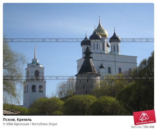 Псков, Кремль, фото № 186446, снято 7 мая 2007 г. (c) ИВА Афонская / Фотобанк Лори