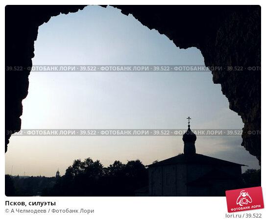 Псков, силуэты, фото № 39522, снято 14 сентября 2006 г. (c) A Челмодеев / Фотобанк Лори