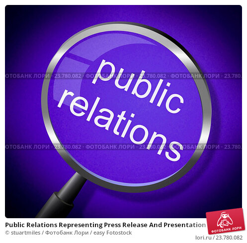public relations analysis presentation and press release