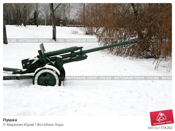 Купить «Пушка», фото № 174262, снято 1 декабря 2007 г. (c) Марюнин Юрий / Фотобанк Лори