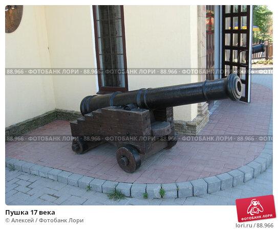 Пушка 17 века, фото № 88966, снято 20 августа 2007 г. (c) Алексей / Фотобанк Лори