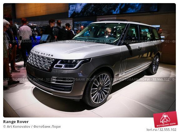 Купить «Range Rover», фото № 32555102, снято 17 сентября 2019 г. (c) Art Konovalov / Фотобанк Лори