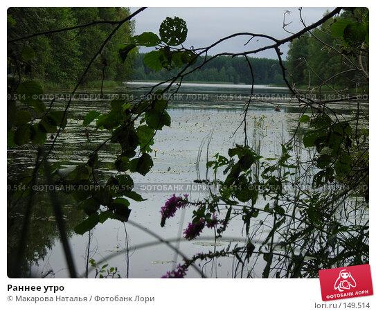 Раннее утро, фото № 149514, снято 2 августа 2007 г. (c) Макарова Наталья / Фотобанк Лори