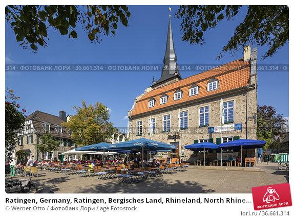 Ratingen, Germany, Ratingen, Bergisches Land, Rhineland, North Rhine... Стоковое фото, фотограф Werner Otto / age Fotostock / Фотобанк Лори