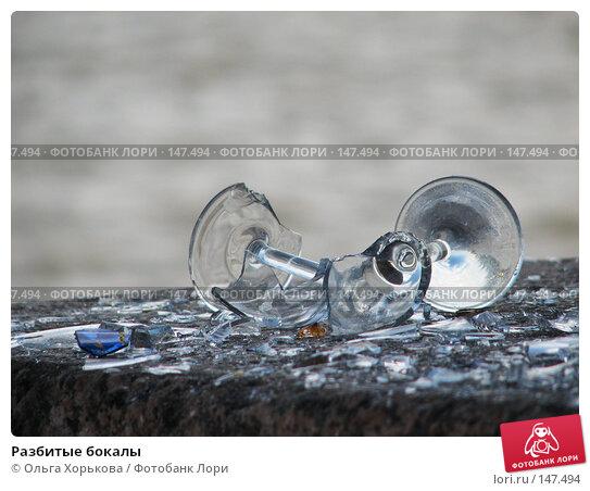 Разбитые бокалы, фото № 147494, снято 16 июня 2007 г. (c) Ольга Хорькова / Фотобанк Лори