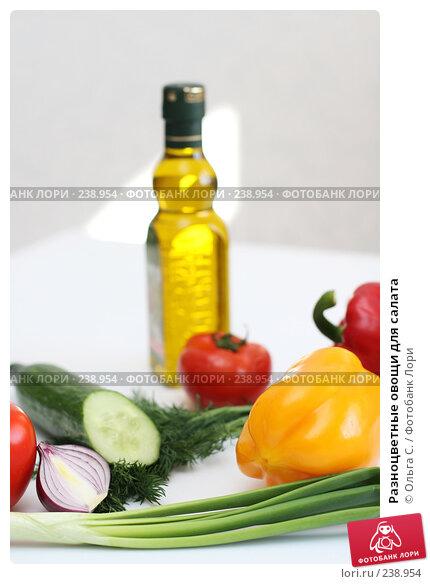Разноцветные овощи для салата, фото № 238954, снято 31 марта 2008 г. (c) Ольга С. / Фотобанк Лори