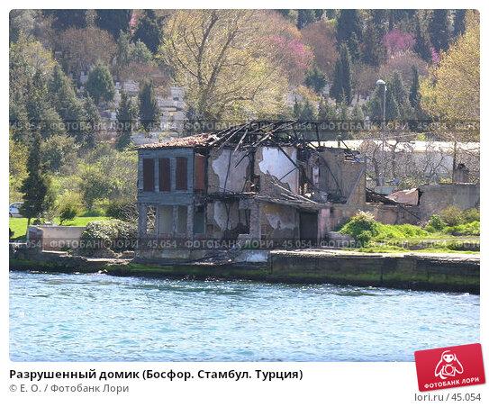 Разрушенный домик (Босфор. Стамбул. Турция), фото № 45054, снято 14 апреля 2007 г. (c) Екатерина Овсянникова / Фотобанк Лори