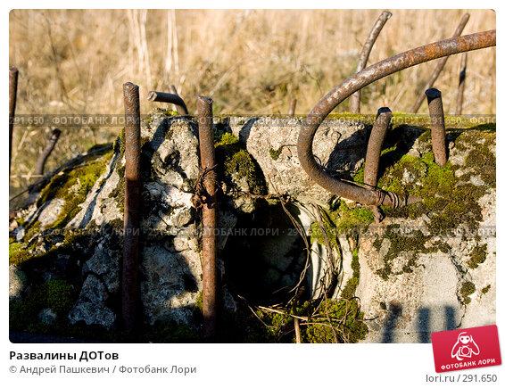 Развалины ДОТов, фото № 291650, снято 4 ноября 2007 г. (c) Андрей Пашкевич / Фотобанк Лори