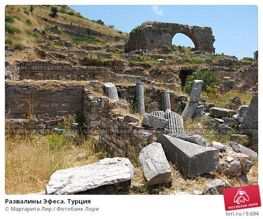 Развалины Эфеса. Турция, фото № 9694, снято 9 июля 2006 г. (c) Маргарита Лир / Фотобанк Лори