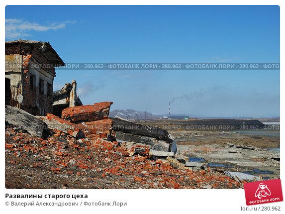 Развалины старого цеха, фото № 280962, снято 2 мая 2008 г. (c) Валерий Александрович / Фотобанк Лори