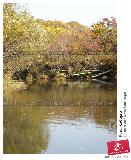 Река Кабарга, фото № 208734, снято 6 октября 2007 г. (c) Лисенок / Фотобанк Лори