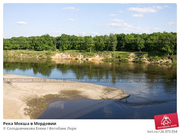 Купить «Река Мокша в Мордовии», эксклюзивное фото № 26973554, снято 24 мая 2014 г. (c) Солодовникова Елена / Фотобанк Лори