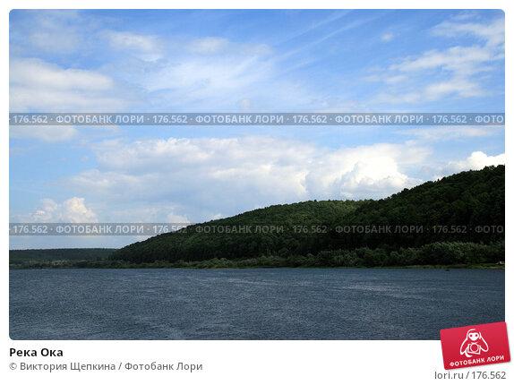 Река Ока, фото № 176562, снято 26 августа 2007 г. (c) Виктория Щепкина / Фотобанк Лори
