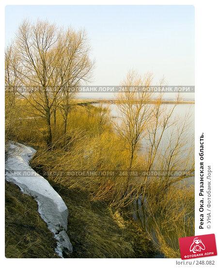 Река Ока. Рязанская область., фото № 248082, снято 5 апреля 2008 г. (c) УНА / Фотобанк Лори