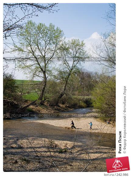 Река Псыж, фото № 242986, снято 4 апреля 2008 г. (c) Федор Королевский / Фотобанк Лори