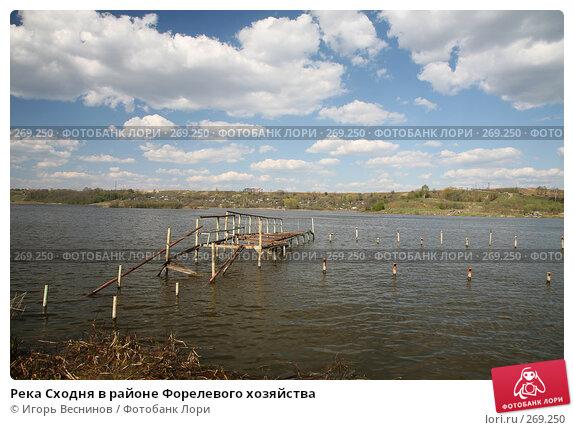 Река Сходня в районе Форелевого хозяйства, фото № 269250, снято 27 апреля 2008 г. (c) Игорь Веснинов / Фотобанк Лори