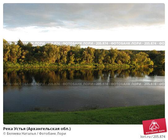 Река Устья (Архангельская обл.), фото № 205874, снято 22 июля 2007 г. (c) Беляева Наталья / Фотобанк Лори
