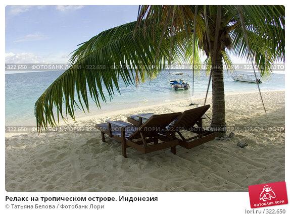 Релакс на тропическом острове. Индонезия, фото № 322650, снято 18 марта 2008 г. (c) Татьяна Белова / Фотобанк Лори