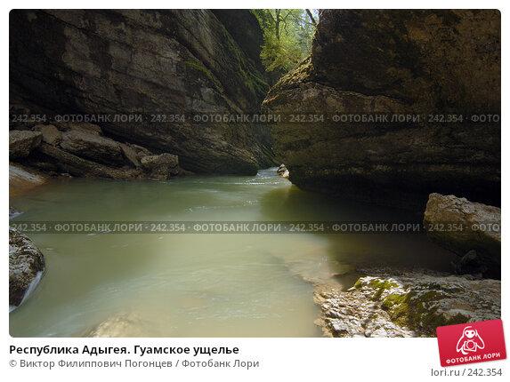 Республика Адыгея. Гуамское ущелье, фото № 242354, снято 1 мая 2006 г. (c) Виктор Филиппович Погонцев / Фотобанк Лори