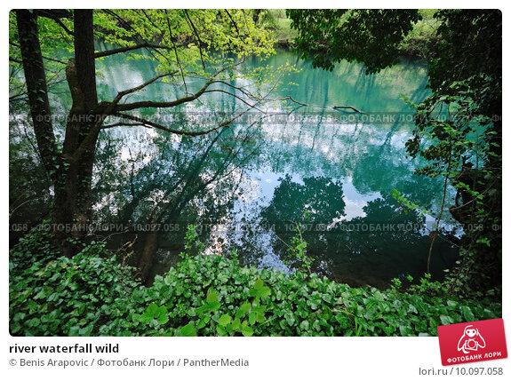 Купить «river waterfall wild », фото № 10097058, снято 19 марта 2019 г. (c) PantherMedia / Фотобанк Лори