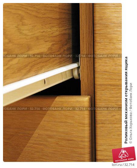 Роликовый механизм открывания ящика, фото № 32714, снято 26 января 2007 г. (c) Ольга Хорькова / Фотобанк Лори