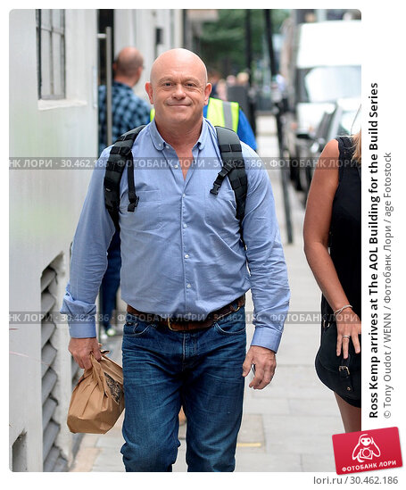 Ross Kemp arrives at The AOL Building for the Build Series (2017 год). Редакционное фото, фотограф Tony Oudot / WENN / age Fotostock / Фотобанк Лори