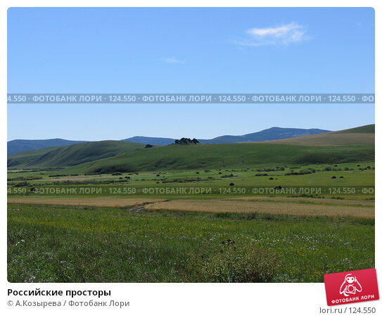 Купить «Российские просторы», фото № 124550, снято 27 августа 2007 г. (c) A.Козырева / Фотобанк Лори