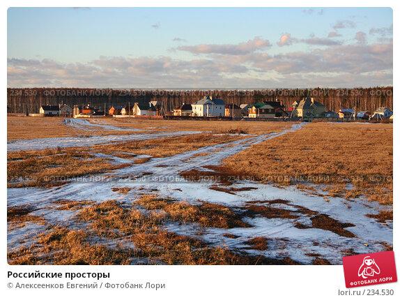 Купить «Российские просторы», фото № 234530, снято 26 февраля 2008 г. (c) Алексеенков Евгений / Фотобанк Лори