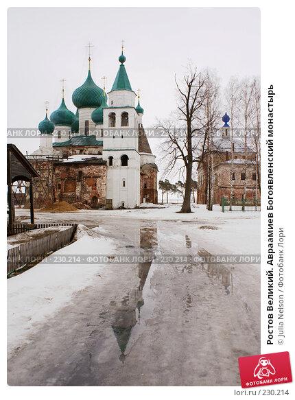 Купить «Ростов Великий. Авраамиев Богоявленский монастырь», фото № 230214, снято 25 февраля 2008 г. (c) Julia Nelson / Фотобанк Лори