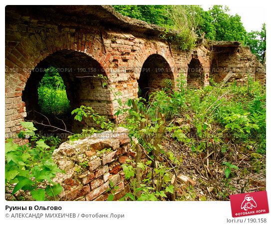 Руины в Ольгово, фото № 190158, снято 17 июня 2006 г. (c) АЛЕКСАНДР МИХЕИЧЕВ / Фотобанк Лори