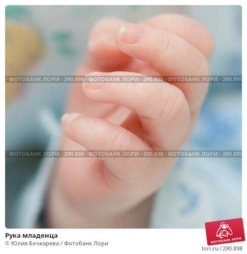 Рука младенца, фото № 290898, снято 29 января 2008 г. (c) Юлия Бочкарева / Фотобанк Лори
