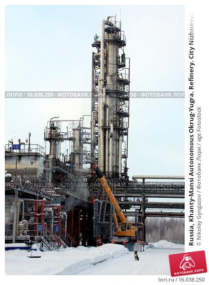 Купить «Russia, Khanty-Mansi Autonomous Okrug-Yugra. Refinery. City Nizhnevartovsk.», фото № 16038250, снято 2 июля 2019 г. (c) age Fotostock / Фотобанк Лори