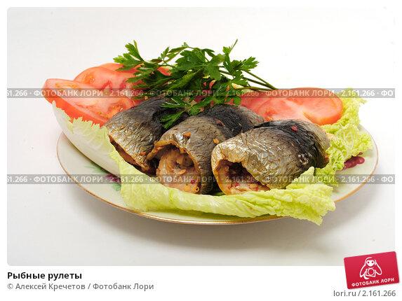 Рыбные рулеты. Стоковое фото, фотограф Алексей Кречетов / Фотобанк Лори