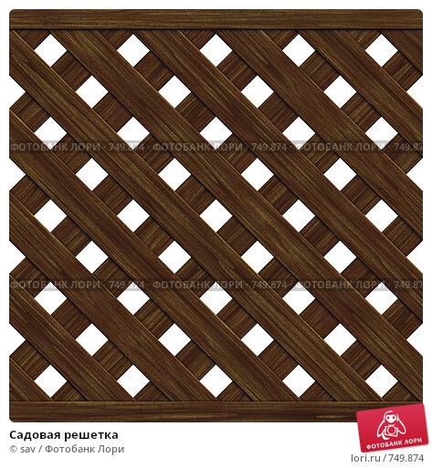 Купить «Садовая решетка», иллюстрация № 749874 (c) sav / Фотобанк Лори