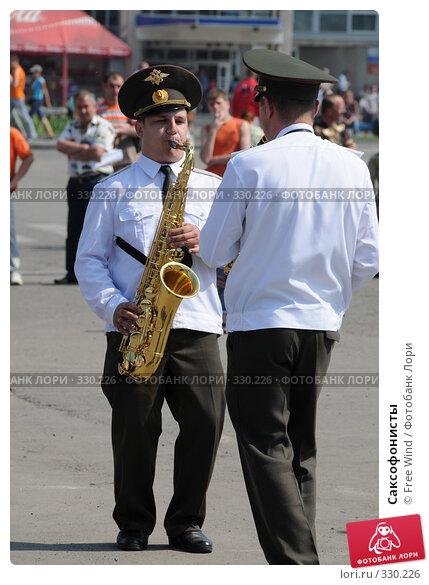 Саксофонисты, эксклюзивное фото № 330226, снято 22 июня 2008 г. (c) Free Wind / Фотобанк Лори